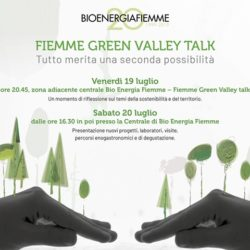 Fiemme Green Valley Talk | 19 e 20 Luglio 2019